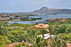 威廉斯塔德库拉索岛 免版税库存照片