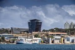 威廉斯塔德港口游览  免版税库存图片