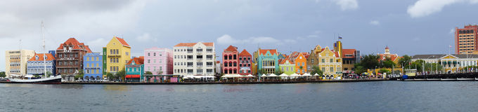威廉斯塔德,库拉索岛, ABC海岛 免版税库存图片