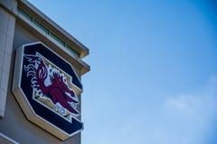 威廉斯布赖斯体育场南卡罗来纳雄斗鸡橄榄球 库存图片