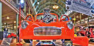 1941年威廉旧车改装的高速马力汽车 免版税库存图片