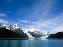 威廉王子湾冰川在阿拉斯加 免版税库存图片