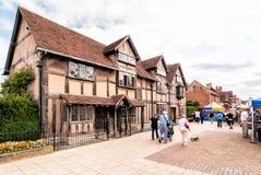威廉・莎士比亚出生地  库存照片