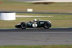 威廉马尔希驾驶爱尔兰赛跑的队木桶匠T53 免版税库存照片