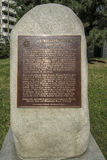 威廉Osler先生纪念碑 图库摄影