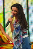 娜塔莎Koroleva —苏维埃和俄语流行歌手和女演员乌克兰起源 免版税库存图片