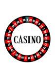 娱乐场轮盘赌的赌轮 免版税库存图片