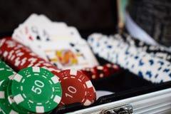 娱乐赌博比赛,赌博娱乐场,打赌 机会,金钱 免版税库存图片