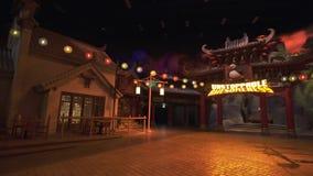 娱乐Kung fu熊猫的疆土在梦工厂中在迪拜公园和手段的Motiongate 库存图片