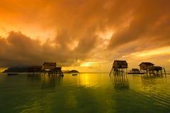 婆罗洲海岛maiga 免版税库存图片