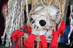 婆罗洲的顶头猎人 免版税库存图片