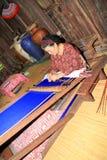婆罗洲编织 免版税库存照片