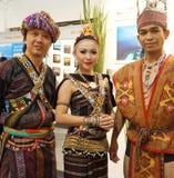 婆罗洲部落 免版税库存图片