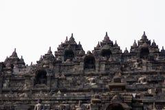 婆罗浮屠寺庙, Java,印度尼西亚外形  库存图片
