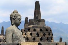 婆罗浮屠寺庙 库存图片