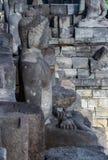 婆罗浮屠艺术  免版税库存图片