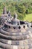 婆罗浮屠遗产在日惹,印度尼西亚 免版税图库摄影