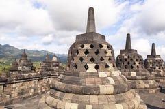 婆罗浮屠遗产在日惹,印度尼西亚 免版税库存图片