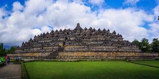 婆罗浮屠, Java,印度尼西亚 库存图片
