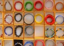 婆罗洲的五颜六色的小珠 库存图片