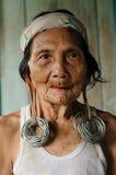 婆罗洲迪雅克人人 免版税库存图片