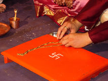 婚姻仪式 免版税库存图片