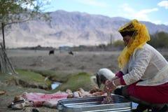 婚姻塔吉克斯坦的人, Tashkurgan新疆Ch 免版税库存照片