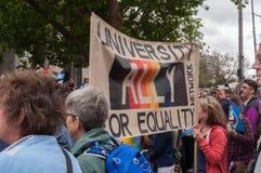 婚姻平等2017年10月 免版税库存照片