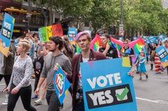 婚姻平等2017年10月 免版税库存图片