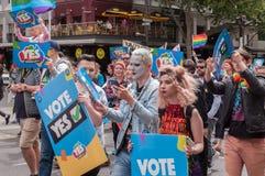 婚姻平等2017年10月 免版税图库摄影