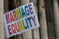 婚姻平等2017年 库存照片