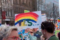 婚姻平等2017年 免版税库存图片