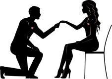 婚姻建议 向量例证