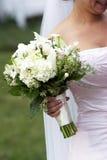 婚姻新娘的花 免版税库存照片