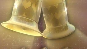 婚姻爱的金铃 向量例证
