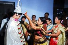 婚姻的仪式 图库摄影