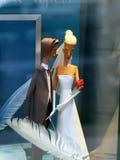 婚姻的图 免版税库存照片
