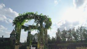 婚姻的室外仪式 影视素材