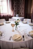 婚姻的木桌在心脏的形状编号 免版税库存照片