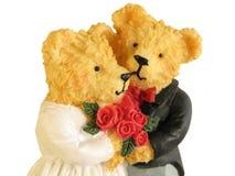 婚姻的熊 库存照片