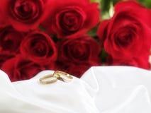 婚姻的环形 免版税库存照片