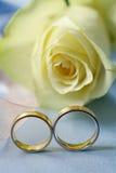 婚姻的环形 免版税图库摄影