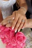 婚姻的环形 图库摄影