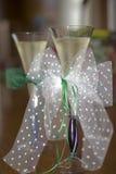 婚姻的玻璃 免版税图库摄影