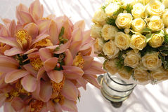 婚姻的花束 库存照片