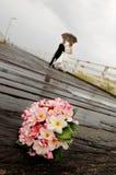 婚姻的花 库存照片