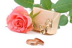 婚姻的范围 免版税库存照片