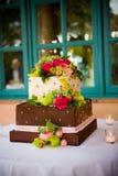 婚姻的蛋糕 免版税库存照片