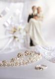 婚姻的辅助部件 免版税库存照片