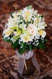 婚姻花花束的玫瑰 库存图片